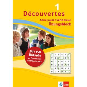 Découvertes 1 Série jaune/Série bleue - Übungsblock zum Schulbuch
