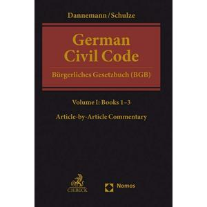 German Civil Code Volume I