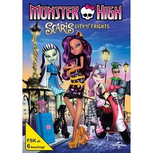 Various - Monster High Scaris-Monsterstadt der Mode - 1 DVD