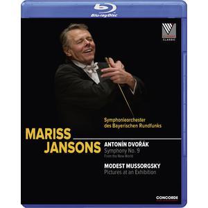 Musik-CD Antonin Dvorak: Sinfonie 9 / Jansons,Mariss, (1 Blu-Ray Video)
