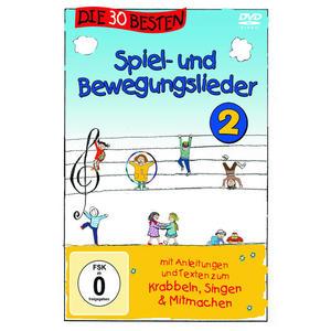 30 BESTEN SPIEL UND BEWEGUNGSLIEDER - VOL.2 - 1 DVD