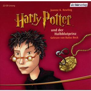Beck,Rufus - (6)Harry Potter Und Der Halbblutprinz RL - 22 CD