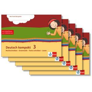 Deutsch kompakt 3. Rechtschreiben - Grammatik - Texte schreiben - Lesen