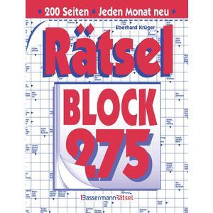 Rätselblock 275 (5 Exemplare à 2,99 €)