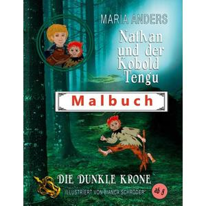 Nathan und der Kobold Tengu - Malbuch