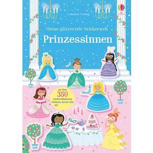 Meine glitzernde Stickerwelt: Prinzessinnen