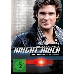David Hasselhoff,Edward Mulhare,Patricia McPherson - Knight Rider Gesamtbox - 26 DVD