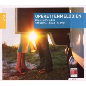 Musik-CD Operettenmelodien/Operetta Melodies / Schreier/Vogel/Neukirch/+, (2 CD)