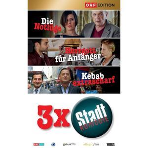 Hader,Josef/Strasser,Katharina/Vitasek,Andr - Stadtkomödien-Set 1: Die Notlüge/Herrgott für An - 3 DVD