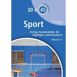 30 x 45 Minuten - Sport