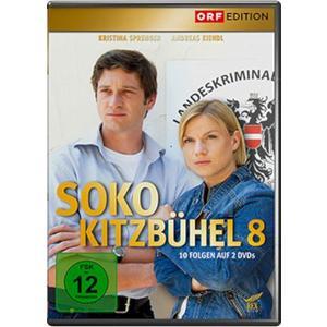 Sprenger,Kristina/Sigl,Hans/Marecek,Heinz - SOKO Kitzbühel 08 - 2 DVD