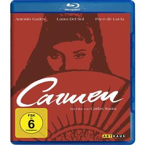 Musik-CD Carmen / Del Sol,Laura/Gades,Antonio/de Lucia,Paco, (1 Blu-Ray Video)