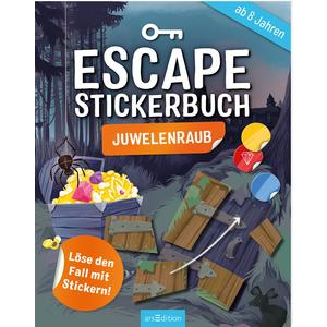 Escape-Stickerbuch Juwelenraub