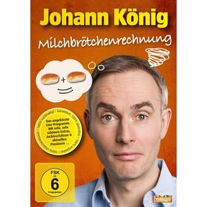 König,Johann - Milchbrötchenrechnung (Live) - 2 DVD