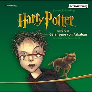 Beck,Rufus - (3)Harry Potter und der Gefangene von Askaban - 11 CD