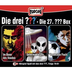 Die Drei ??? - 27/3er Box Folgen 79-81 - 3 CD