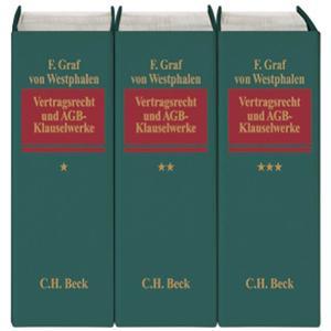 Vertragsrecht und AGB-Klauselwerke