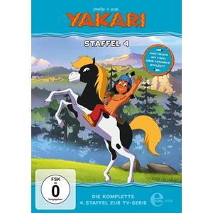 Yakari - (4)Staffelbox - 2 DVD