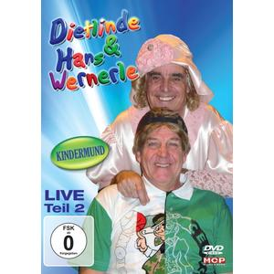 Dietlinde & Hans Wernerle - Live Teil 2: Kindermund 2 - 1 DVD