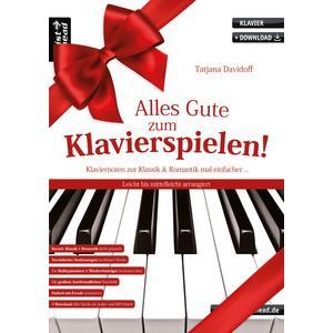 Alles Gute zum Klavierspielen!
