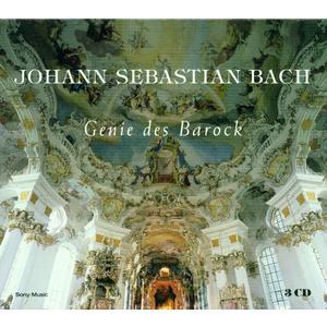 Musik-CD JOHANN SEBASTIAN BACH - GENIE / GOULD/GOLSCHMANN/COLUMB.SYMPH., (3 CD)