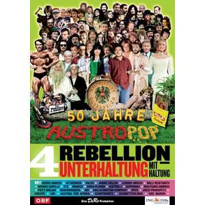 Musik-CD Folge 04: Rebellion-Unterhaltung mit Haltung / 50 Jahre Austropop, (1 DVD-Video Album)
