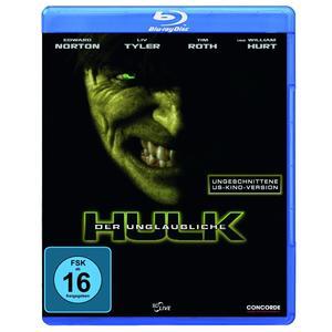 Tyler,Liv/Norton,Edward/Hurt,William - Der unglaubliche Hulk - 1 Blu-Ray