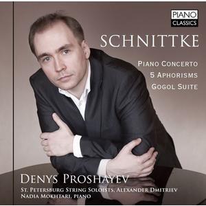 Proshayev,Denys - Piano Concerto/5 Aphorisms/Gogol Suite - 1 CD