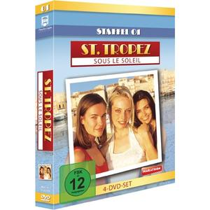 St.Tropez-Sous Le Soleil - Staffel 1 - 4 DVD