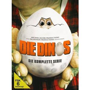 Henson,Brian/Jacobs,Michael/Henson,Jim - Die Dinos: Die komplette Serie (Softbox) - 9 DVD