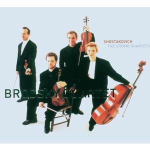 Sämtliche Streichquartett / Brodsky Quartet