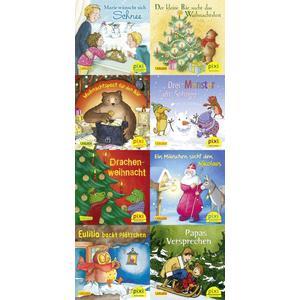 Pixi-Weihnachts-8er-Set 35: Kling, Pixi, klingelingeling (8x1 Exemplar)