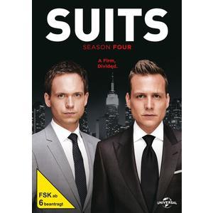 Gabriel Macht,Patrick J.Adams,Rick Hoffman - Suits-Season 4 - 4 DVD
