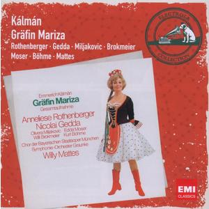 Musik-CD GRÄFIN MARIZA / MATTES/ROTHENBERGER/GEDDA, (2 CD)