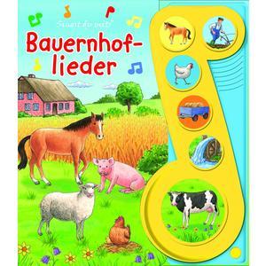Bauernhof-Lieder - Liederbuch mit Sound - Pappbilöderbuch mit 6 Melodien