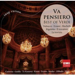VA PENSIERO-BEST OF VERDI / CARRERAS/GEDDA/TE KANAWA/STUDER