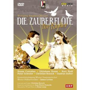 Levine/Boesch/Rydl/Schreier/WP - Die Zauberflöte f.Kinder/Szbg - 1 DVD