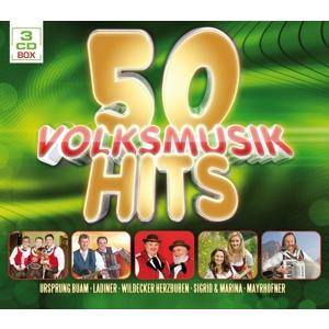 Various - 50 Volksmusik Hits - 3 CD