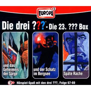Die Drei ??? - 23/3er Box Folgen 67-69 - 3 CD