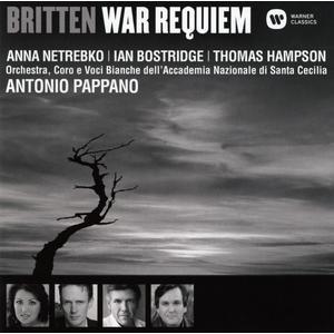 War Requiem / Pappano/Netrebko/Bostridge/Hampson/OASCR