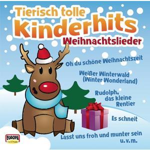 TIERISCH TOLLE KINDERHITS - WEIHNACHTSLIEDER - 1 CD