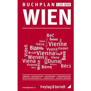 Wien, Buchplan 1:20.000