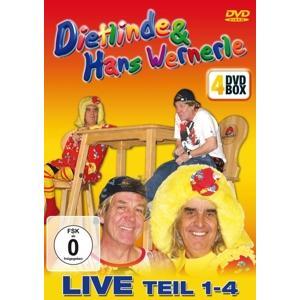 Dietlinde & Hans Wernerle - Live: Teil 1-4 - 4 DVD