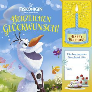 Geburtstags-Soundbuch, Disney Die Eiskönigin, Herzlichen Glückwunsch!