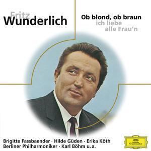 Musik-CD Ob Blond,Ob Braun / Wunderlich,Fritz, (1 CD)