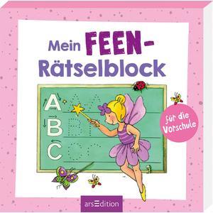 Mein Feen-Rätselblock für die Vorschule