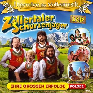 ZILLERTALER SCHÜRZENJÄGER - LEGENDEN DER VOLKSMUSIK - 2 CD