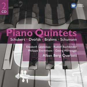 Musik-CD Klavierquintette / Alban Berg Quartett, (2 CD)