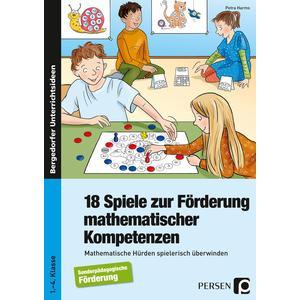18 Spiele zur Förderung mathematischer Kompetenzen