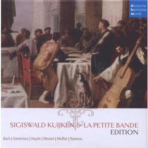 SIGISWALD KUIJKEN+LA PETITE BANDE EDITION / KUIJKEN,SIGISWALD/BANDE,LA PETITE